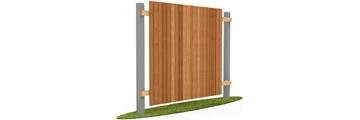 Сплошной деревянный забор в Ярославле по доступной цене