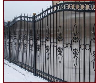 Купить кованный забор в Ярославле, Тутаеве, Рыбинске