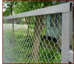 Купить забор из сетки рабицы в Ярославле