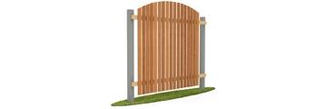 Деревянный забор штакетник в Ярославле по доступной цене