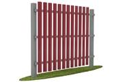 Забор из евроштакетника в Ярославле по доступной цене
