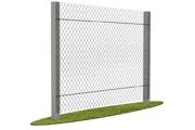 Забор из сетки-рабицы эконом класса в Ярославле по доступной цене