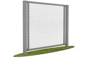 Забор из сетки-рабицы в секции по доступной цене